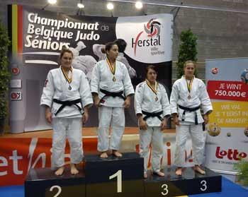 Lola Mansour - Championne de Belgique Senior
