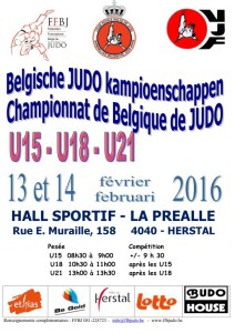 2016 CEJ Champ. Belgique - bilingue